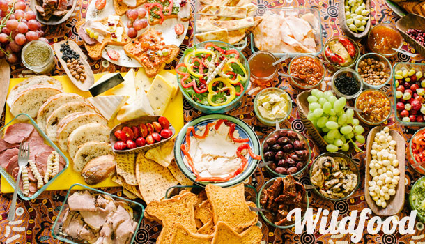 Enjoy a delicious Australian wild food / gourmet lunch