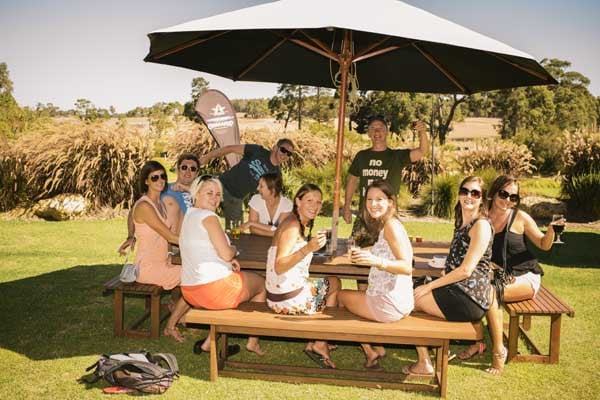 Enjoy a unique hosted winery lunch with your guide