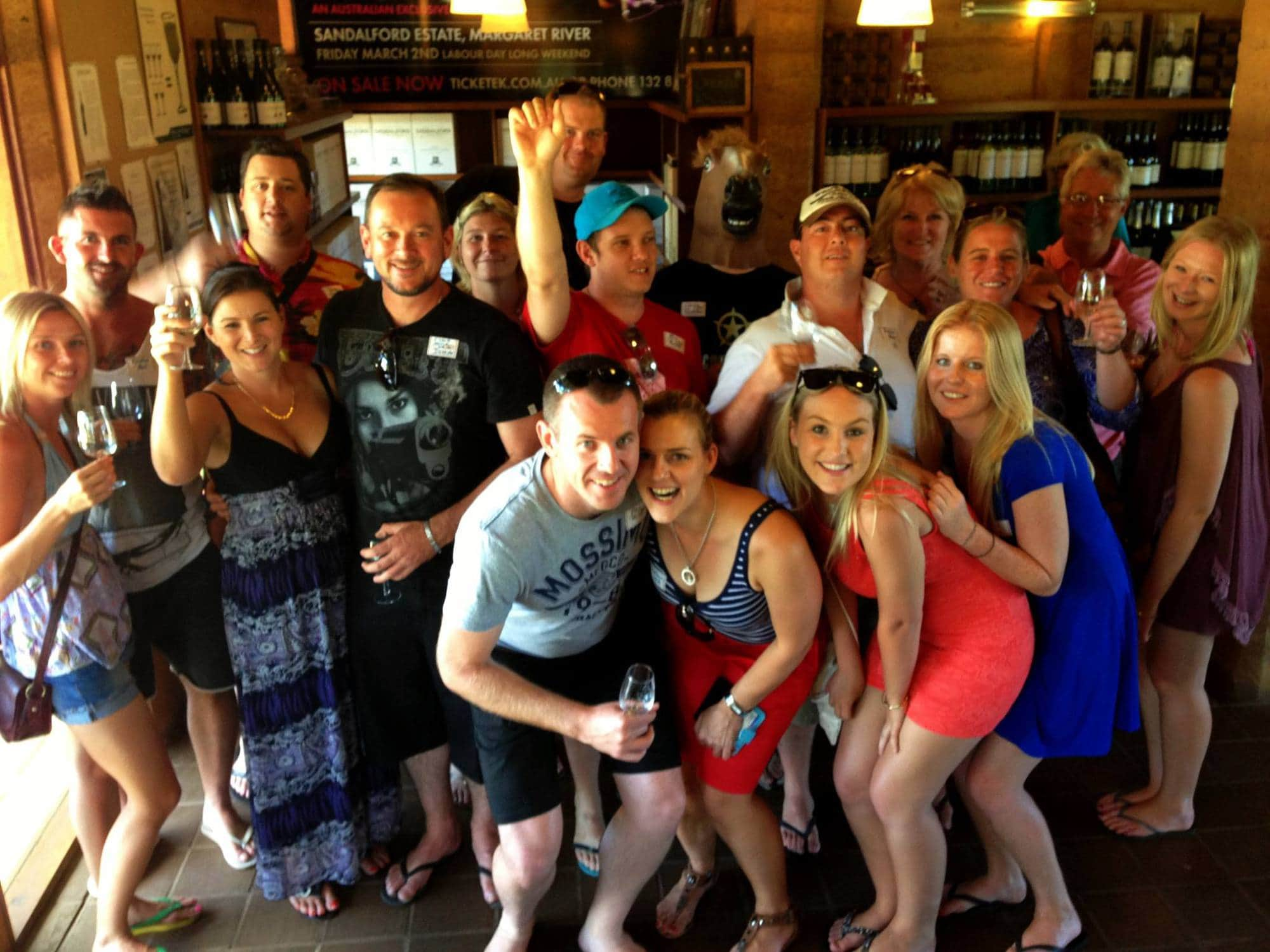 Get out there with a wild food Bushtucker Winery and Brewerty Tour!