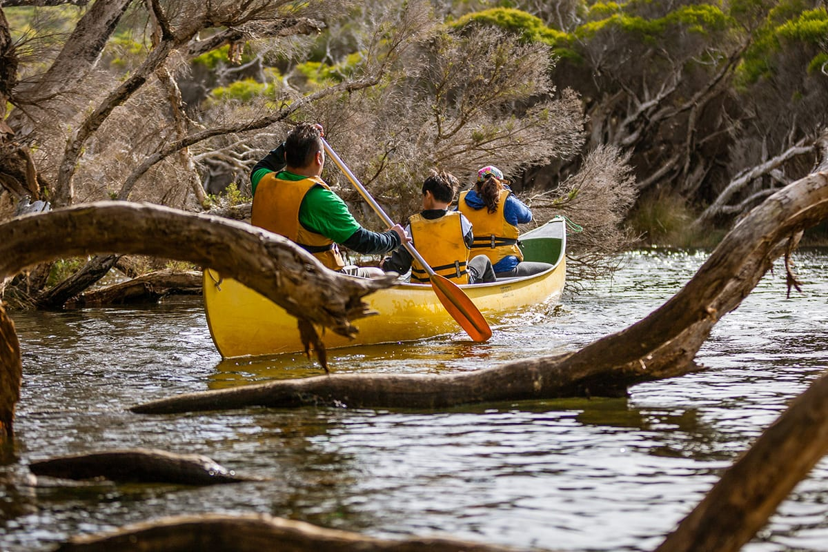 Canoe the Margaret River